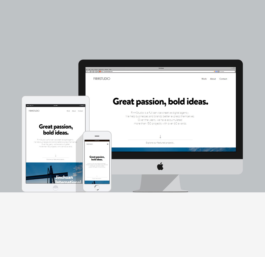 FirmStudio Agency Website image